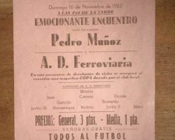 Recorte Fútbol 1952